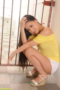 Caribbeancom-021114-541 – Obscene Asian beauty love – Ren Azumi